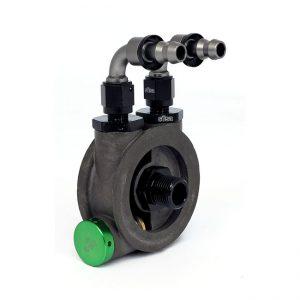 Oil filter adapter EVO & XL