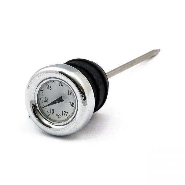 Oil tank temperature gauge