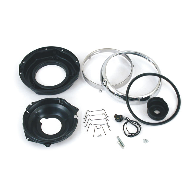 "7"" FLH Headlamp mount kit"