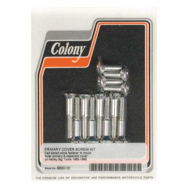 Primaire deksel bout set / Primairy cover screw kit '65-'69