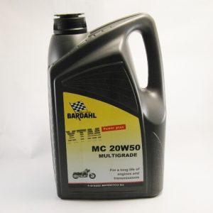 Bardahl XTM 20W50 Motor olie / Engine oil