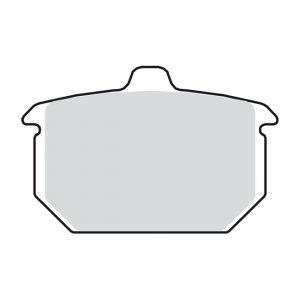 Remblok set / Brake pad set Rear '82-'87
