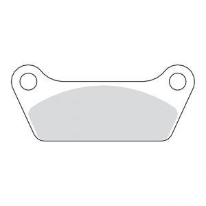 Remblok set / Brake pad set FL / FLT '80-'85 rear