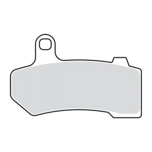 Remblok set / Brake pad set FLT / V-Rod '08-'14 rear