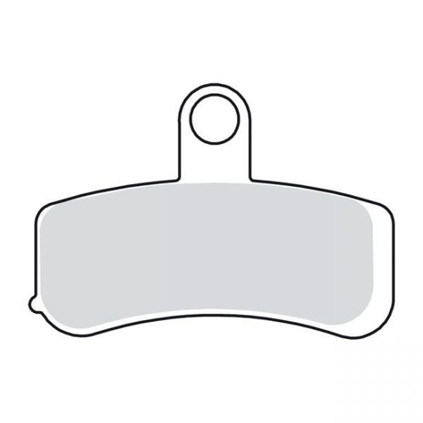 Remblok set / Brake pad set Softail/Dyna '08- up front