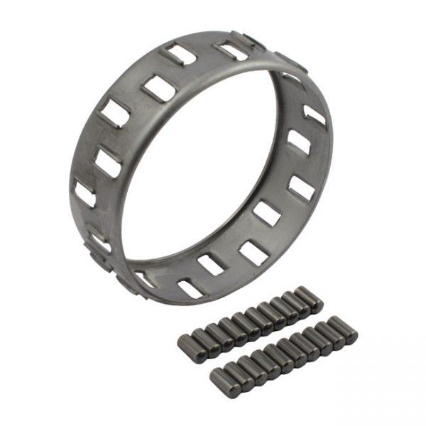 Lager houder met rollen / Bearing retainer with rollers