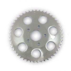 Achtertandwiel / Rear wheel sprocket 51T Verzinkt / Zinc