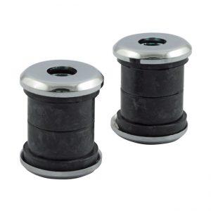 Stuur rubber set / Handlebar damper kit. Heavy Duty