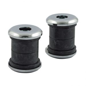 Stuur rubber set / Handlebar damper kit. Standard.