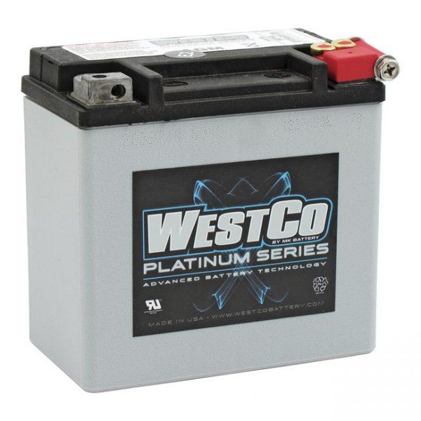 WestCo Accu / Battery 200CCA XL 04-16 /XR 08-12 /Buell 1125 / Street 500-750