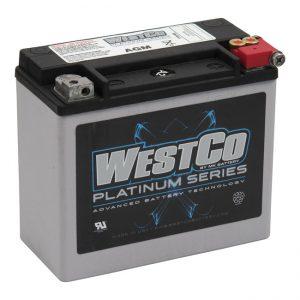 WestCo Accu / Battery 300CCA DYNA / SOFTAIL 97-15 / XL 97-03 / V-ROD 07-15