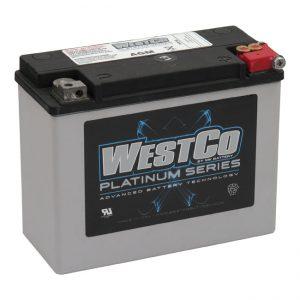 WestCo Accu/ Battery 350CCA Touring '80-'96
