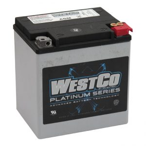 WestCo Accu / Battery 400CCA Touring '97-'15