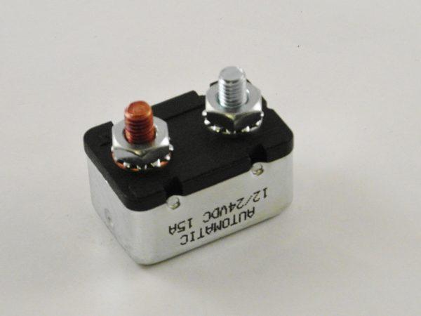 Zekering / Circuit breaker 15 Amp.