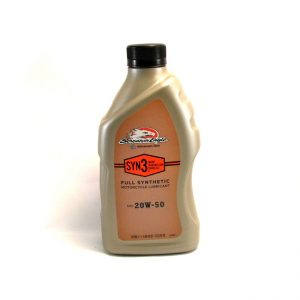 SYN3 Synthetic engine oil by Screamin'Eagle 20W50